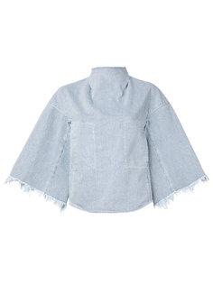 полосатая джинсовая блузка  Toga