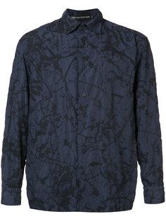 рубашка с принтом брызг краски Issey Miyake