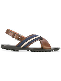 сандалии с пряжками и ремешком на пятке Car Shoe