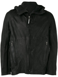 кожаная куртка с капюшоном Isaac Sellam Experience