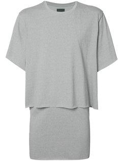 многослойная футболка Byungmun Seo