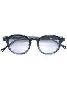 grey tint lens round sunglasses Oamc