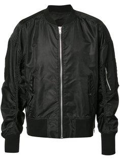 куртка-бомбер на молнии Byungmun Seo