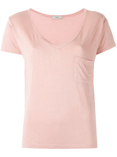 v neck t-shirt Egrey
