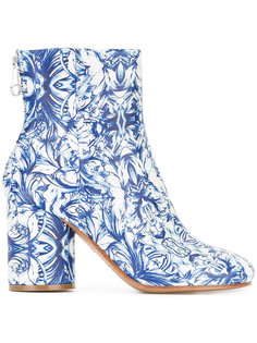 ботинки China с принтом Maison Margiela
