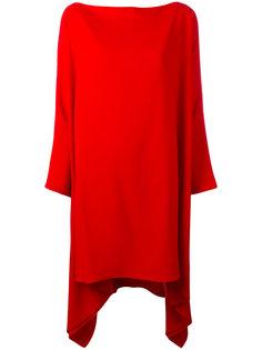 объемное платье с драпировкой Gianluca Capannolo
