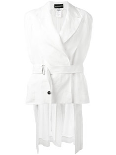 пиджак без рукавов с неравномерным подолом Ann Demeulemeester