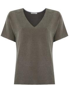 v neck blouse Egrey