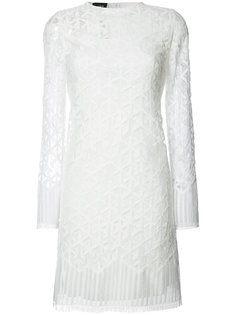 embroidered dress Akris