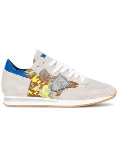 кроссовки Tropez  с камуфляжным принтом Philippe Model
