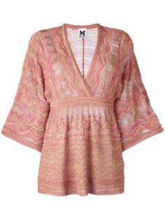 расклешенная блузка шифт M Missoni