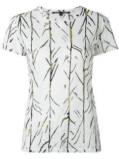футболка с растительным принтом Proenza Schouler