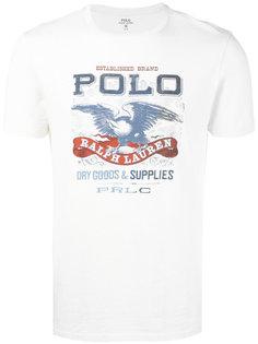 футболка с принтом логотипа Polo Ralph Lauren