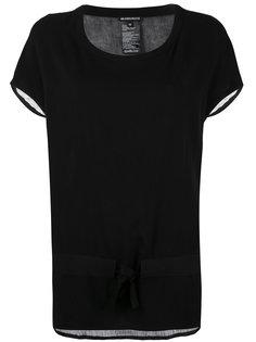 футболка с прозрачной панелью Ann Demeulemeester