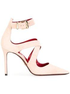 туфли-лодочки с перекрестными ремешками Cesare Paciotti