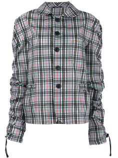 checked jacket Maison Margiela
