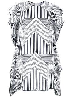 платье с геометрическим принтом MSGM