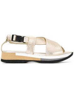 сандалии с пряжками Philippe Model