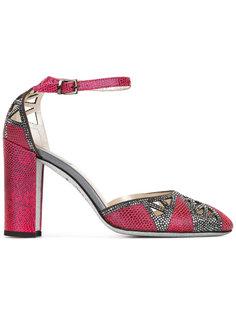 туфли с украшением из кристаллов René Caovilla