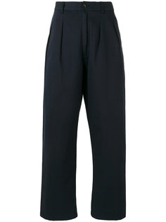 широкие брюки прямого кроя Universal Works