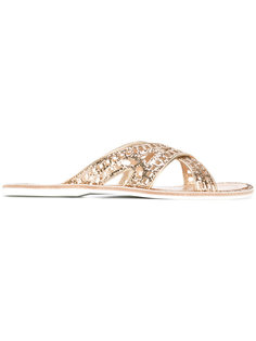 criss cross sandals  Car Shoe