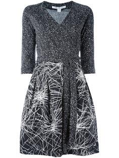 Jewel wrap dress Diane Von Furstenberg