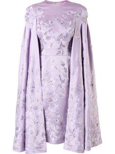 платье-кейп с вышивкой Divina