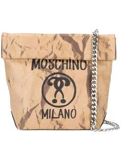 сумка с вопросительным знаком Moschino