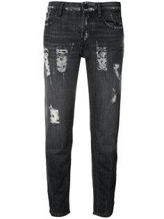 paint detail jeans Etienne Marcel