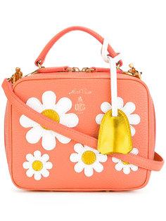 сумка с цветочным принтом Mark Cross