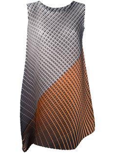 платье с узором Pleats Please By Issey Miyake