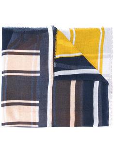 шарф с полосатым принтом Tommy Hilfiger