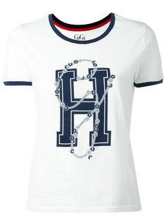 футболка с принтом-логотипом Tommy Hilfiger