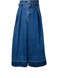 джинсы с двойным поясом Rito