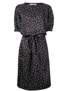 printed drawstring dress  Astraet