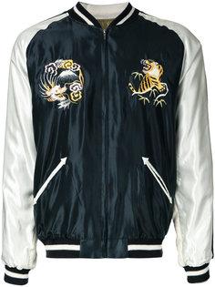 Acetate Suka bomber jacket Gold