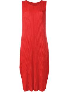 плиссированное платье-шифт Pleats Please By Issey Miyake