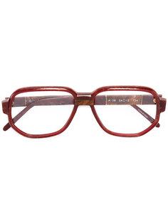 marbled optical glasses Givenchy Vintage
