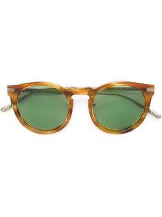 солнцезащитные очки с круглой оправой  Bottega Veneta Eyewear