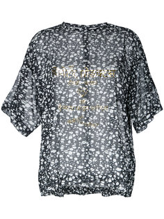 sheer printed blouse  Theatre Products