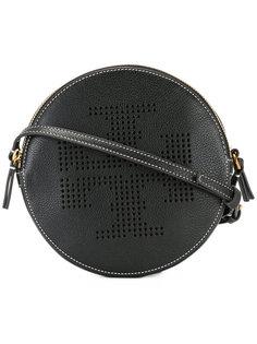 сумка на плечо с перфорацией логотипа Tory Burch