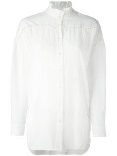 рубашка с узким воротником-стойкой Raquel Allegra