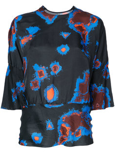 abstract print blouse  Theatre Products