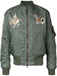 Wind Protex bomber jacket Gold