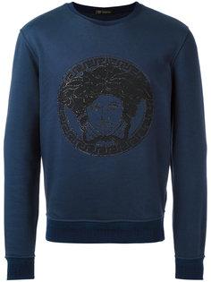 embroidered Medusa sweatshirt Versace