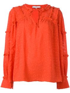 блузка с оборками на рукавах Iro