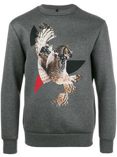 eagle print sweatshirt Neil Barrett