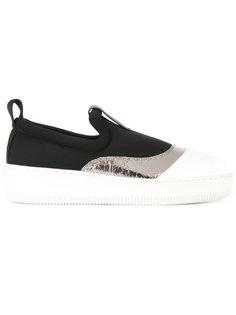 кроссовки с панелью металлик McQ Alexander McQueen