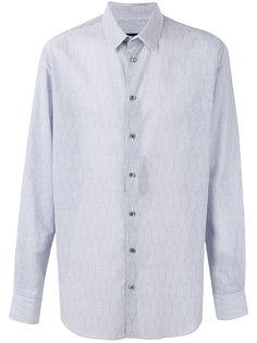 рубашка в тонкую полоску Giorgio Armani