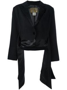 side draped jacket Kenzo Vintage